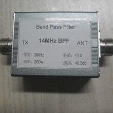 Pass Filter BPF 14M 20m Band Bandpass Filter HF Communication 200W