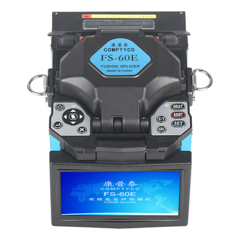 2019 New product promotion COMPTYCO FTTH Fiber Optic Welding Splicing Machine Optical Fiber Fusion Splicer FS-60E 1