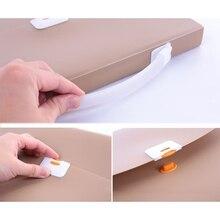 Portable Handheld A4 Business Document Organ Bag File Folder Storage Organizer MOLB