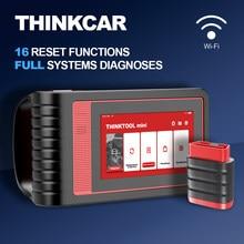 THINKCAR profesjonalny pełny układ EOBD Auto skaner ThinkTool Mini aktywny Test kodowanie ECU IMMO DPF Reset oleju narzędzie diagnostyczne do samochodów