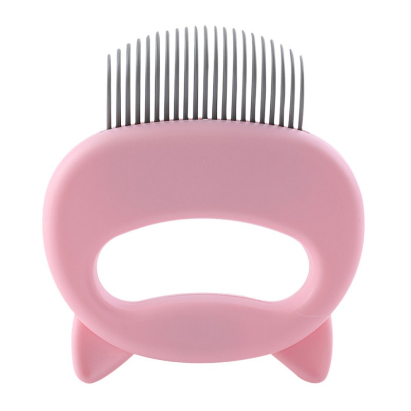 Cat Grooming Massage Brush with Shell Shaped Handle to Repair Withered and Yellow Hair of Cat 13