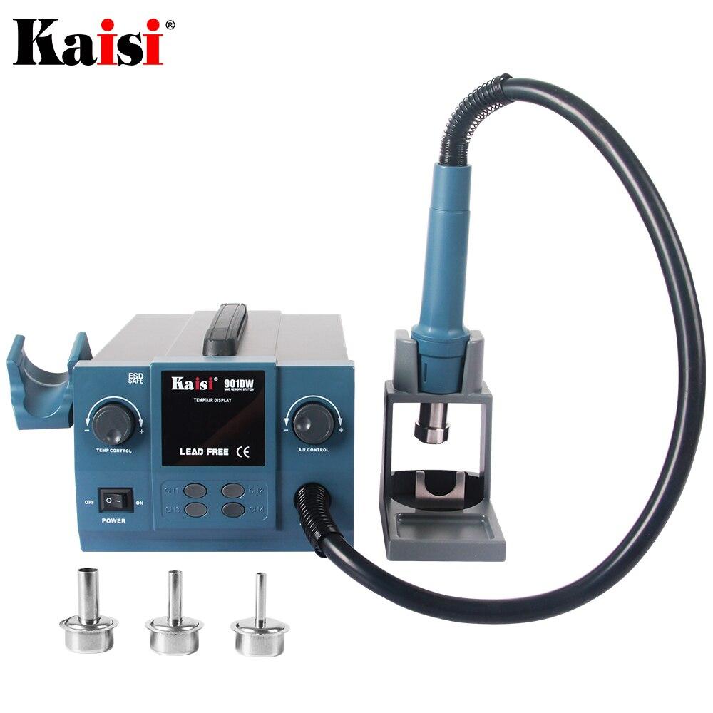 Original Kaisi 901DW 1000W Lead Free Hot Air Rework Station Professional  microcomputer temperature Heat Gun Soldering Station