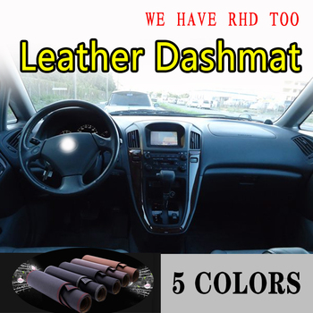 For lexus rx300 270 330 350 400h 1997-2003 Leather Dashmat Dashboard Cover Dash Mat Sunshade Carpet Car Styling auto accessories