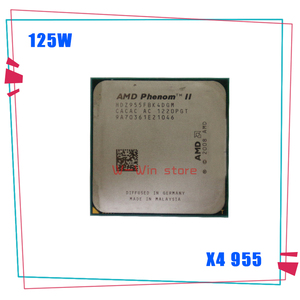AMD Phenom II X4 955 125W Quad-Core DeskTop CPU HDZ955FBK4DGM HDZ955FBK4DGI HDX955FBK4DGM Socket AM3