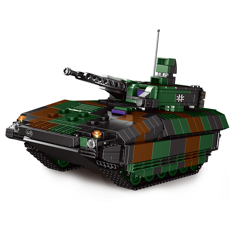 NEW Xingbao 06042 Military WW2 Series 1238pcs Assembly Infantry Fighting Vehicle Building Blocks Bricks Toys For Boys Juguetes