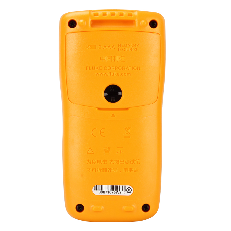 Digital KIT Diode FLUKE Accuracy Buzzer F101 Shutdown F107 Test 5percent CAT III Automatic F106 Multimeter Continuity Dc Basic 600V 0