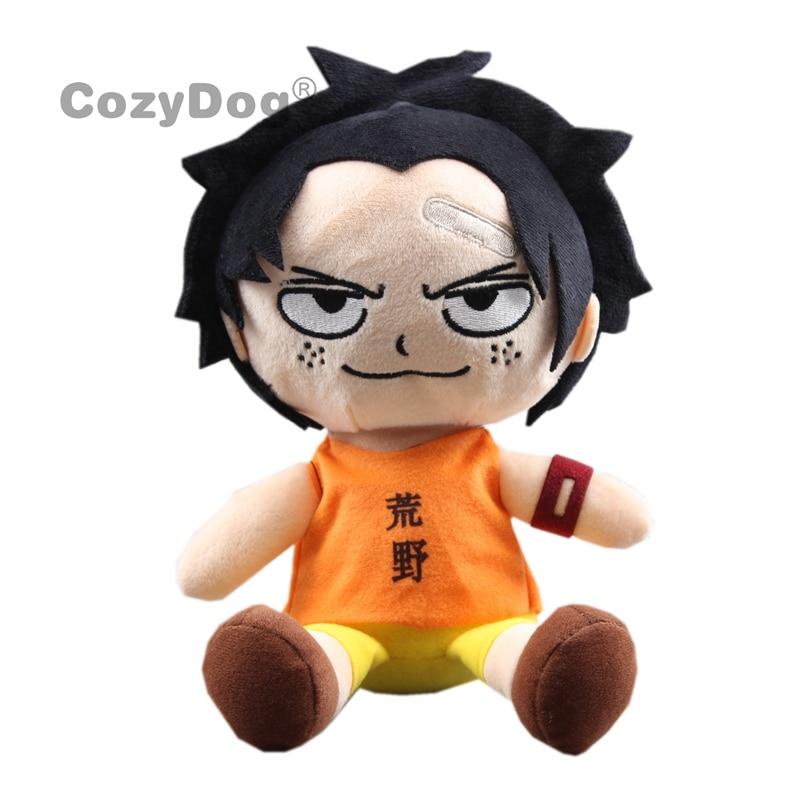 20 cm Anime une pièce Portgas · D · Ace Peluche jouets poupée dessin animé singe D Luffy série Peluche jouet femmes enfants cadeau danniversaire