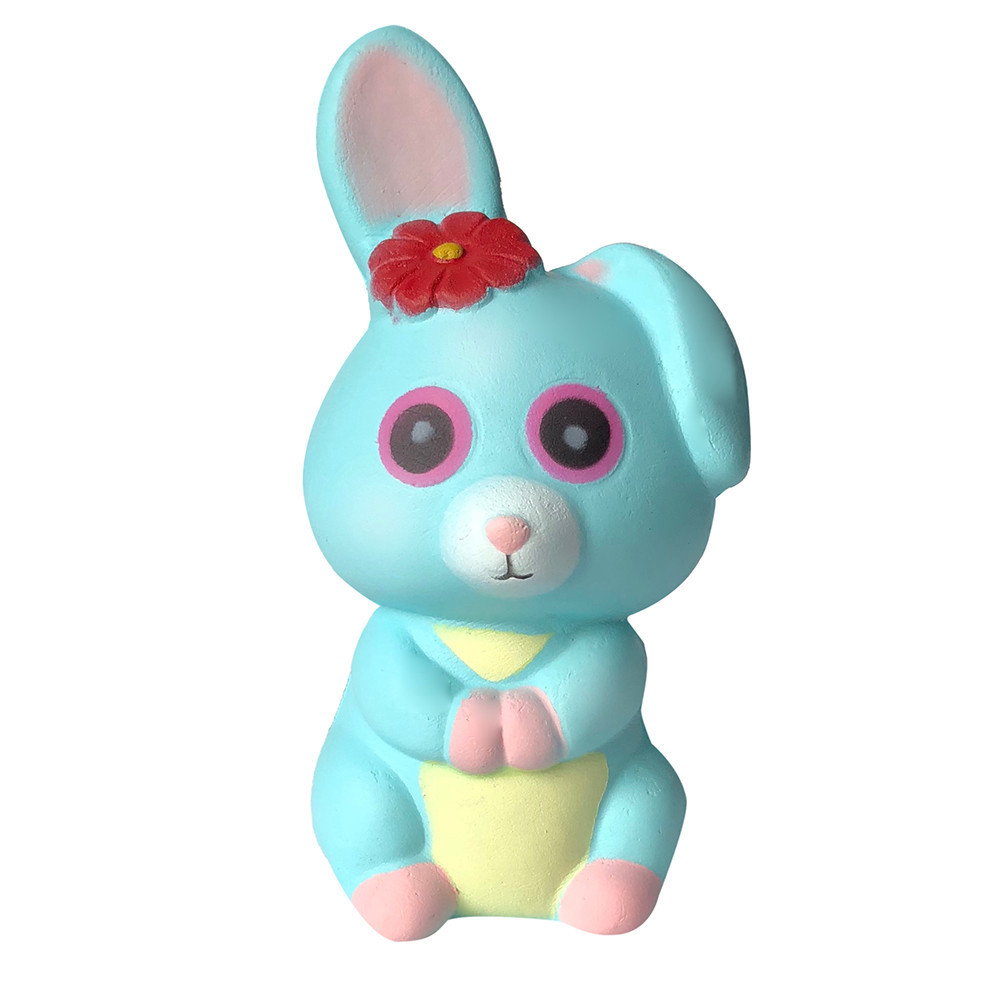 Adorable Rabbit Slow Rising Squeeze Stress Relief Toys Simulation Cartoon Toys Anti-anxiety Decompression Toy Anti Stress #A