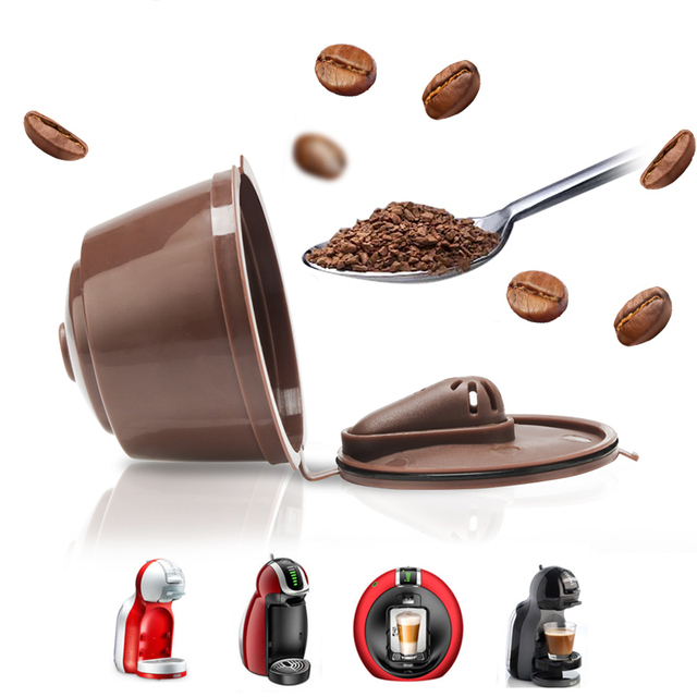 3pcs/packet 3rd Refillable For Dolce Gusto Coffee Capsule for Dolci  Machine Reusable Dulce Gusto Coffee Filter