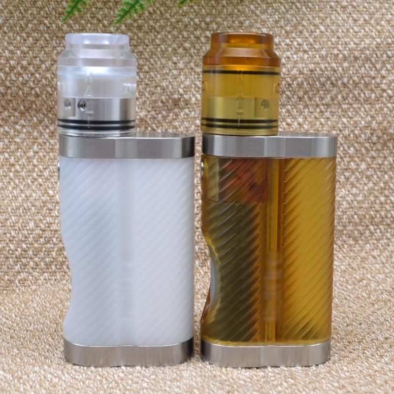 ULTON 18650 Mech Mod 7ml Squonk Box Mod For Kali V2 Style 24mm RDA  Electronic Cigarette