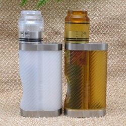 Ulton 18650 Mech Mod 7 Ml Squonk Box Mod per Kali V2 Stile 24 Millimetri Rda Sigaretta Elettronica