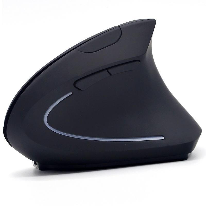 Мышь беспроводная Вертикальная с Акулий плавник, Usb-зарядкой