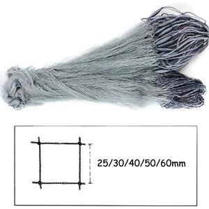 Image 2 - Handmade Finland Fishing Net Gillnet Single Layer Monofilament Fish Network Sticky Mesh Catch 25 60mm Heald Mesh 1.8M*30M