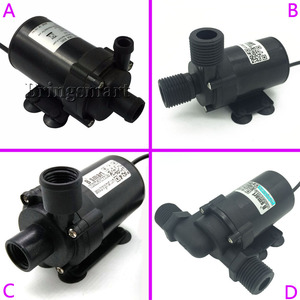 Image 2 - Wholesale 12V Brushless DC Water Pump 800L/H 1000L/H Silent 24V Electric Water Heater Circulating Booster Pump