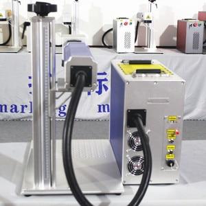 Image 2 - 50W Split Fiber Laser markering Machine Metalen Markering Machine Laser Graveur Machine Rvs