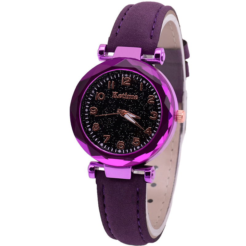 Purple no bracelet