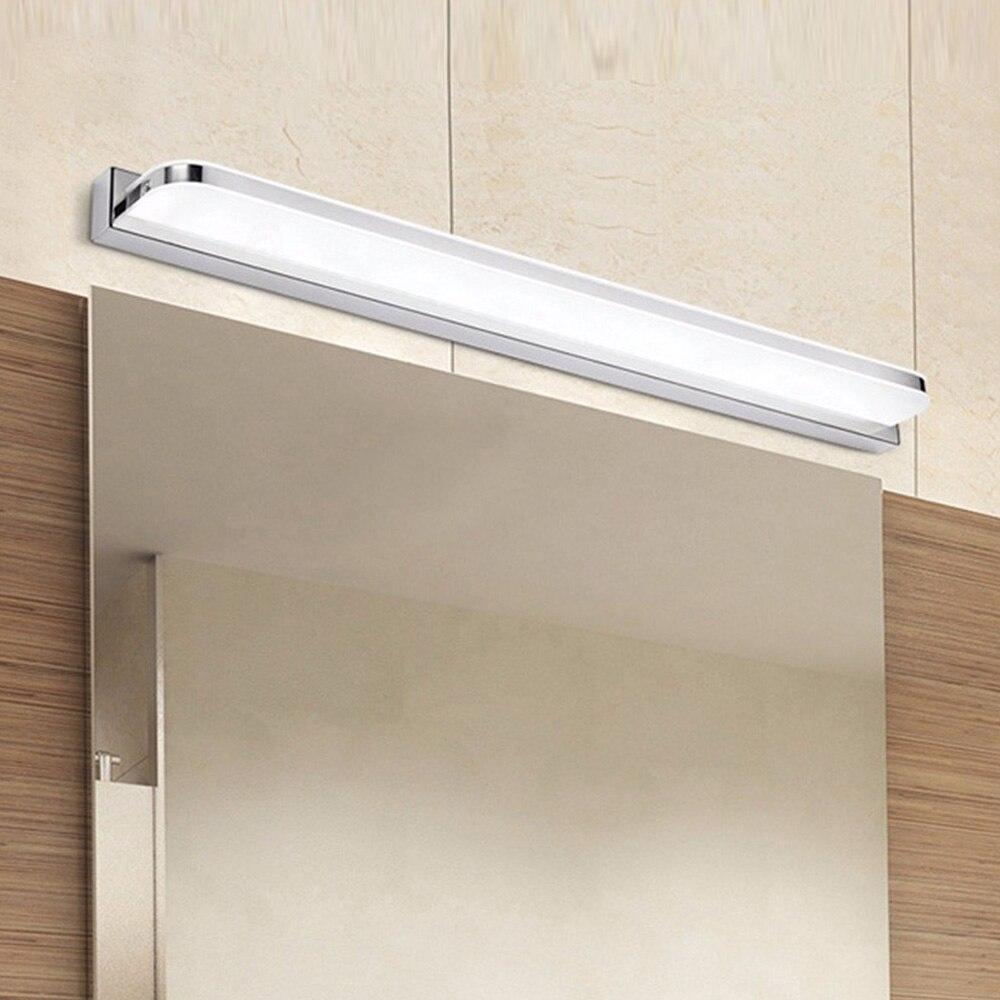 Banheiro led espelho de luz acrílico luz