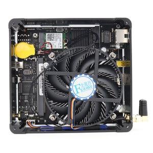 Image 5 - Topton משחקי מיני מחשב Intel Xeon E3 1505M i7 8850H 6 Core 12M מטמון 2 * DDR4 Nvme M.2 nuc מיני מחשב שולחני Win10 פרו AC WiFi