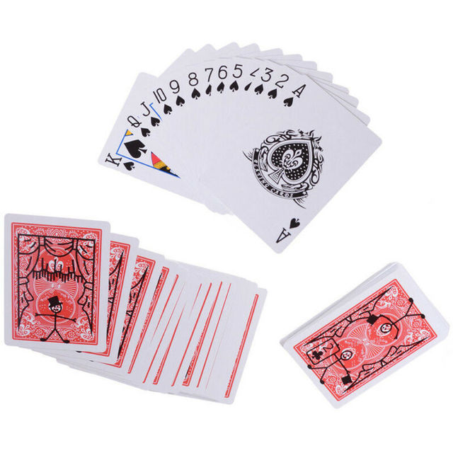 New Magic Prop Cartoon Cardtoon Deck Pack Playing Card Toon Animation Prediction Funny Magic Magic Tricks Gimmick