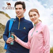 CAMEL Softshell Fleece Windbreakers Jacket Snowwolf Outdoor Shirt Women Men Coat Winter Hiking Camping Plus Size