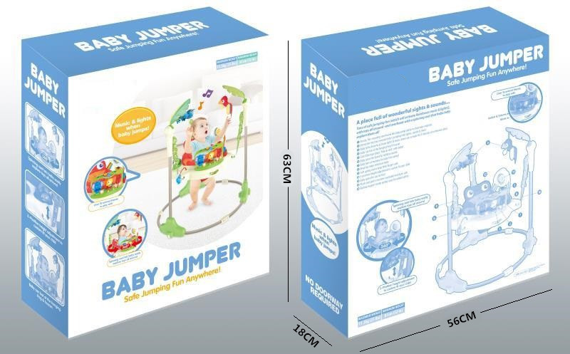 Hadd09bb87fcb4d1ca01ab9f0dfed6d47w Multifunctional Electric Baby Jumping Walker Cradle Rainforest Baby Swing Body-building Rocking Chair Lucky Child Swing 3 M~2 Y