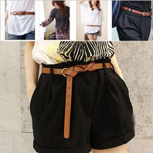 7 Colors Fashion Female Thin Belt Women 2019 High Quality Strap Women Leather Trouser Children's Belts Ladies On Dresses