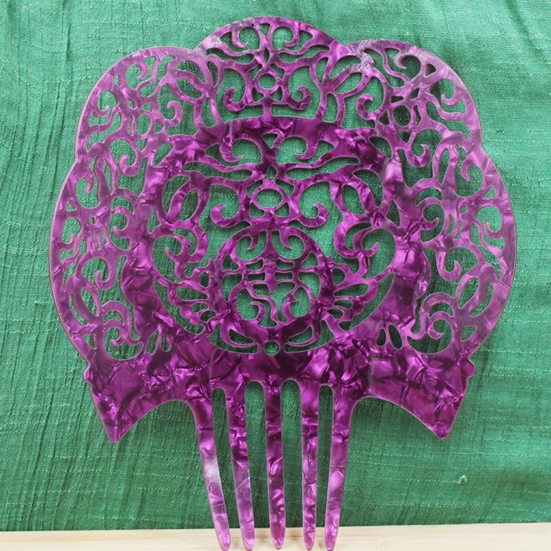 Уксусная кислота кислотная тарелка свадебные аксессуары для волос праздничный вечерние женские головной убор красочные расчески для воло...
