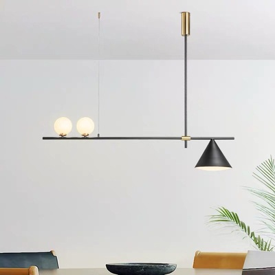 Nordic Minimalist Magic Beans Design Pendant Lamp Concise Parlor Music Restaurant Coffee Dining Kitchen Led Suspension Light