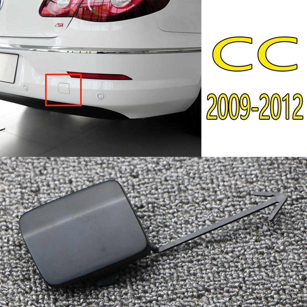 1Pair Front Bumper Tow Trailer Hook Eye Cap Covers for Porsche Cayenne 2008-2011
