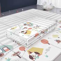 200*180cm Infant Baby Spielen Matte XPE Puzzle Kinder Matte Verdickt Tapete Infantil Baby Zimmer Krabbeln Pad Falten matten Baby Teppich