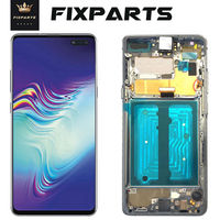 AMOLED S10 5G Verison LCD Display For Samsung Galaxy S10 5G LCD G977N SM G977U LCD Screen Digitizer Assembly 6.7 G977 Screen