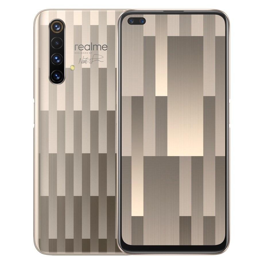 Oryginalny telefon komórkowy Realme X50 5G 64GB/256G/128G ROM 6.57
