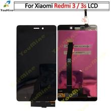 Digitalizador touchscreen para xiaomi redmi 3s, display original, montagem com substituição quadro para redmi 3 lcd