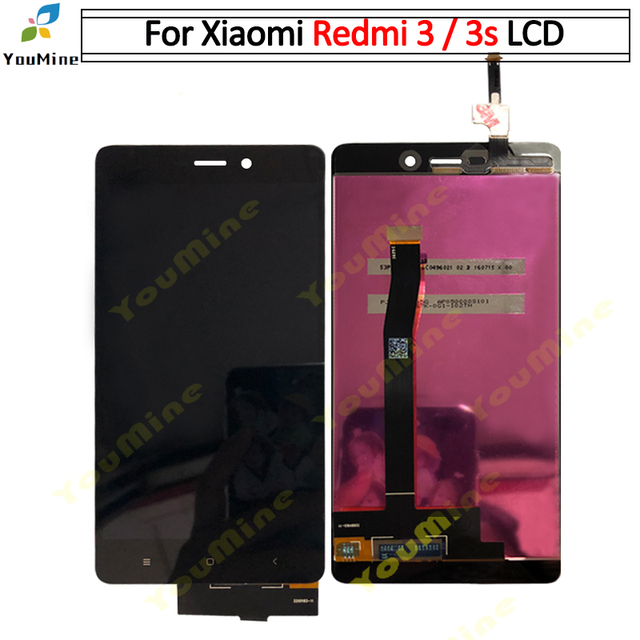 Original For Xiaomi Redmi 3S LCD Display Touch Screen Digitizer Assembly With Frame Replacement For Redmi 3 lcd