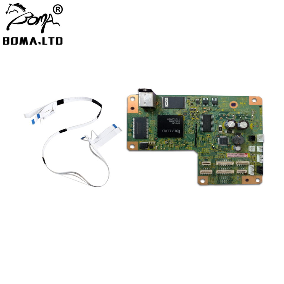 BOMA.LTD L800 Main board Motherboard Formatter Board For Epson L800 Printer Printing Head Tablecloth Cable|Printer Parts| |  - title=