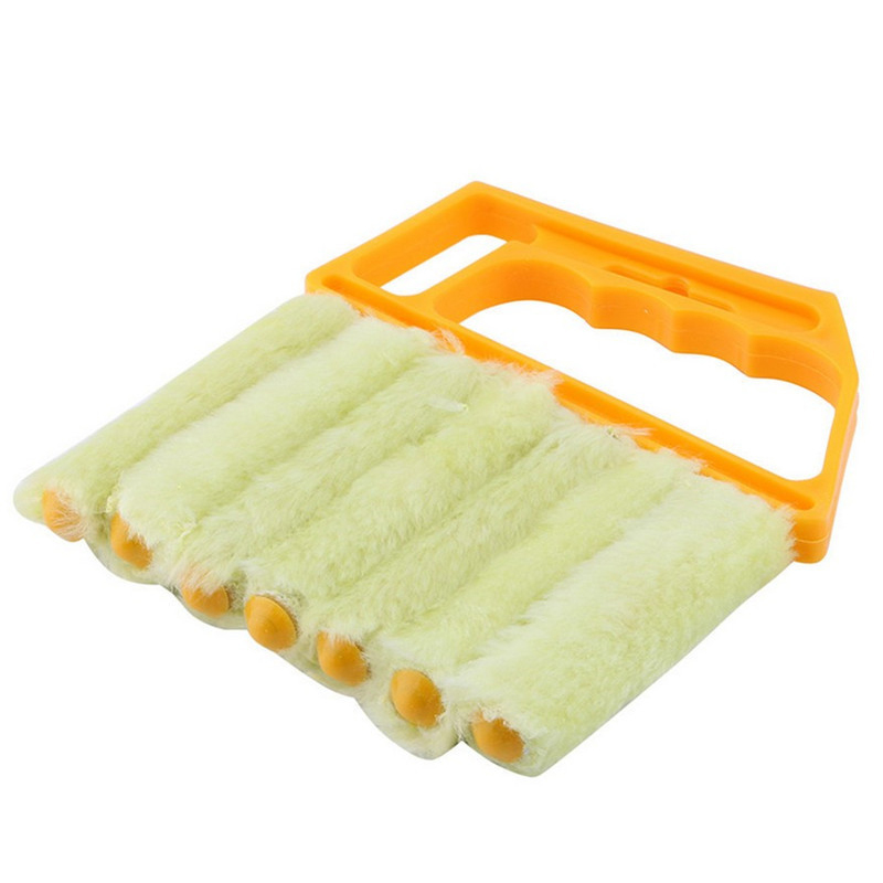 Useful Microfiber Window cleaning brush air Conditioner Duster cleaner with washable venetian blind blade cleaning cloth 40P