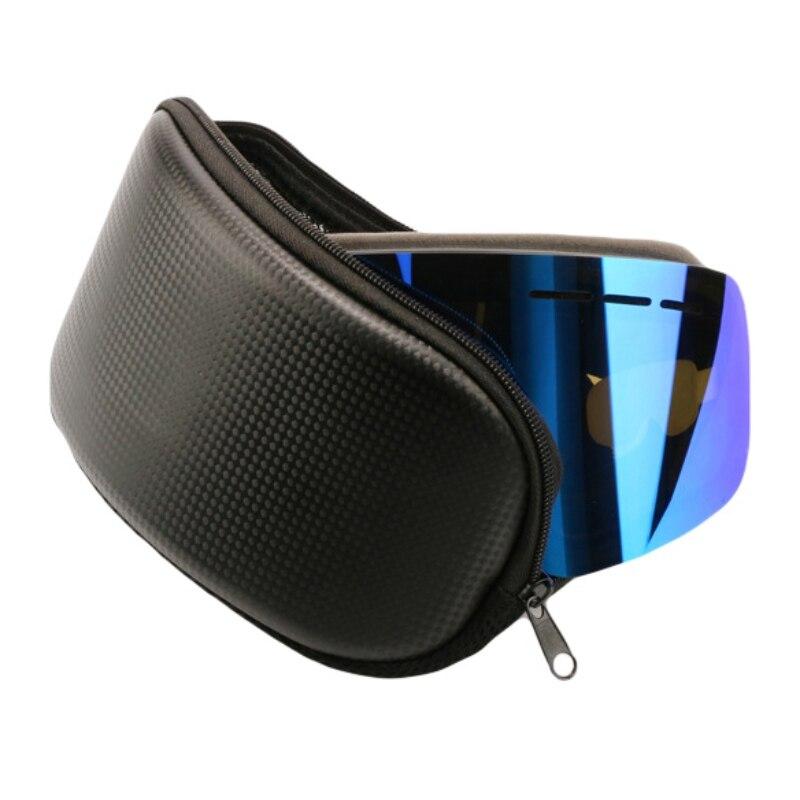 Портативный лыжный очки протектор чехол Лыжный Спорт очки Чехол очки жесткий чехол зимних видов спорта, для катания на сноуборде Противоударная сумка