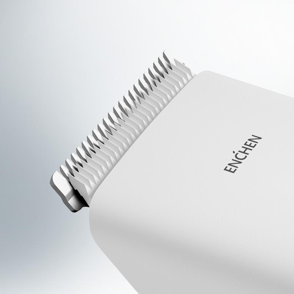 xiaomi ENCHEN Boost Hair Clipper USB Electric  Two Speed Ceramic Cutter Hair Fast Charging Hair Trimmer Children Hair Clipper 4