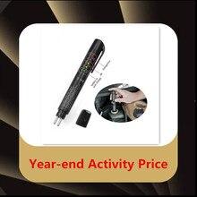 Жидкостный тестер тормозной жидкости 5 светодиодный индикатор Дисплей для DOT3/DOT4 мини электронный тестер тормозной жидкости цифровой автомобильный комплект