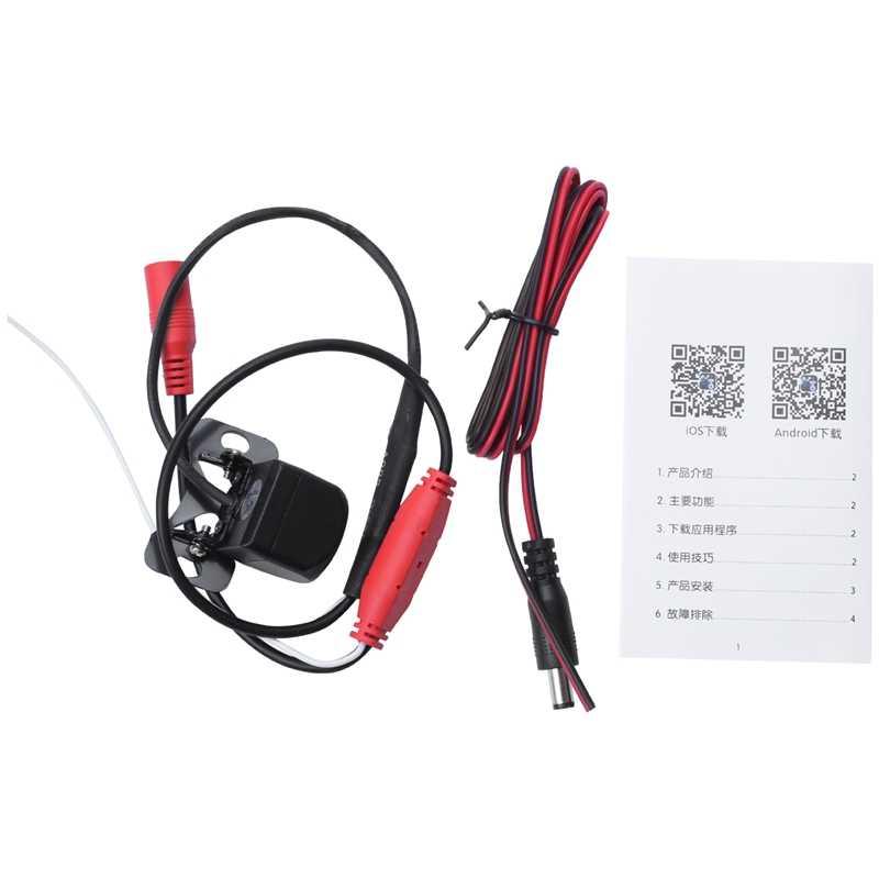 Wireless Auto Videocamera vista posteriore Hd 720P Wifi Telecamera di retromarcia Dash Cam Hd Mini Corpo Tachigrafo per Iphone e Android