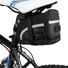 Bicycle Strap-On Bike Saddle Bag/Seat Bag/Cycling Bag Saddle Bag Mountain Bike Bike First Pack Bike Rear Seat Storage Bag ring detail saddle bag