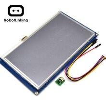 Nextion 7.0 inç tft dokunmatik ekran 800x480 UART HMI akıllı akıllı LCD modül ekran paneli ahududu Pi için