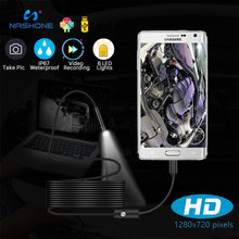 Endoscope Camera Inspection-Borescope 1080p for Car Usb-Type with 6-Adjustable Leds Waterproof