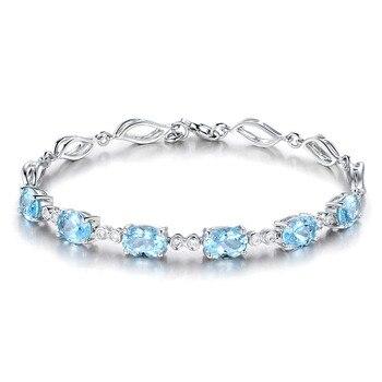 Aigue Marine Bijoux Bracelet
