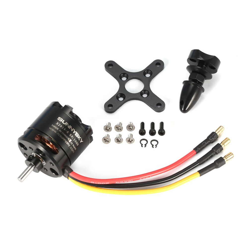 X2814 14P 1000KV RC Motor 3 4S Outrunner Brushless Motor for SUNNYSKY 1 1 5KG RC Airplane Warbirds Bigplanes in Motor from Consumer Electronics