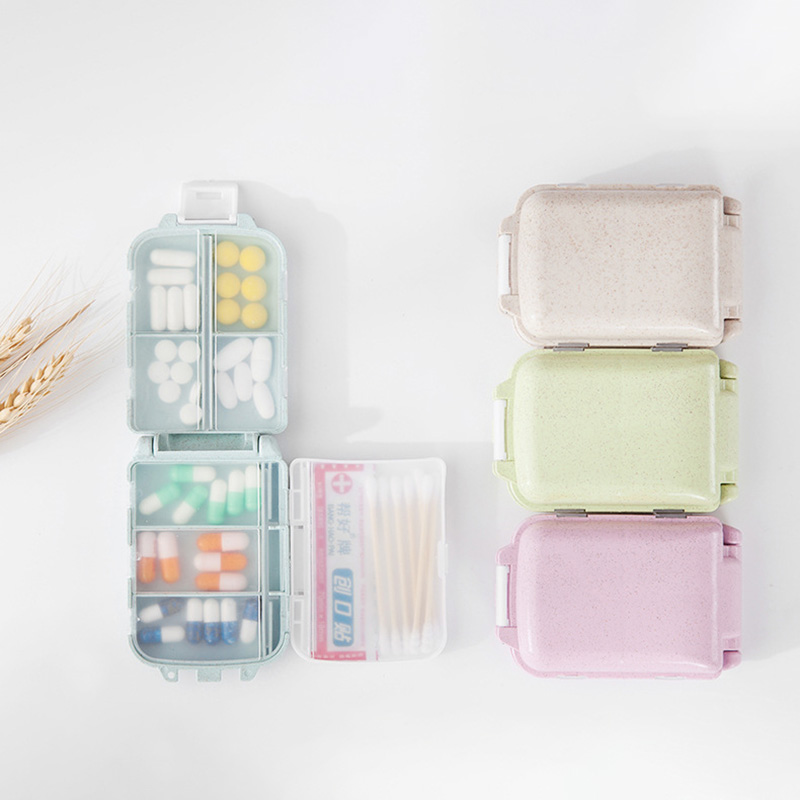 Travel Accessories Pill Box Creative Portable Multifunction Drug Packing Unisex Packing Organizers Security Security Portable