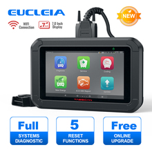 EUCLEIA X7 OBD2 Automotive Scanner Professional Alle System Code Reader SAS Öl EPB Gas Reset ODB OBD 2 Auto Diagnose werkzeug