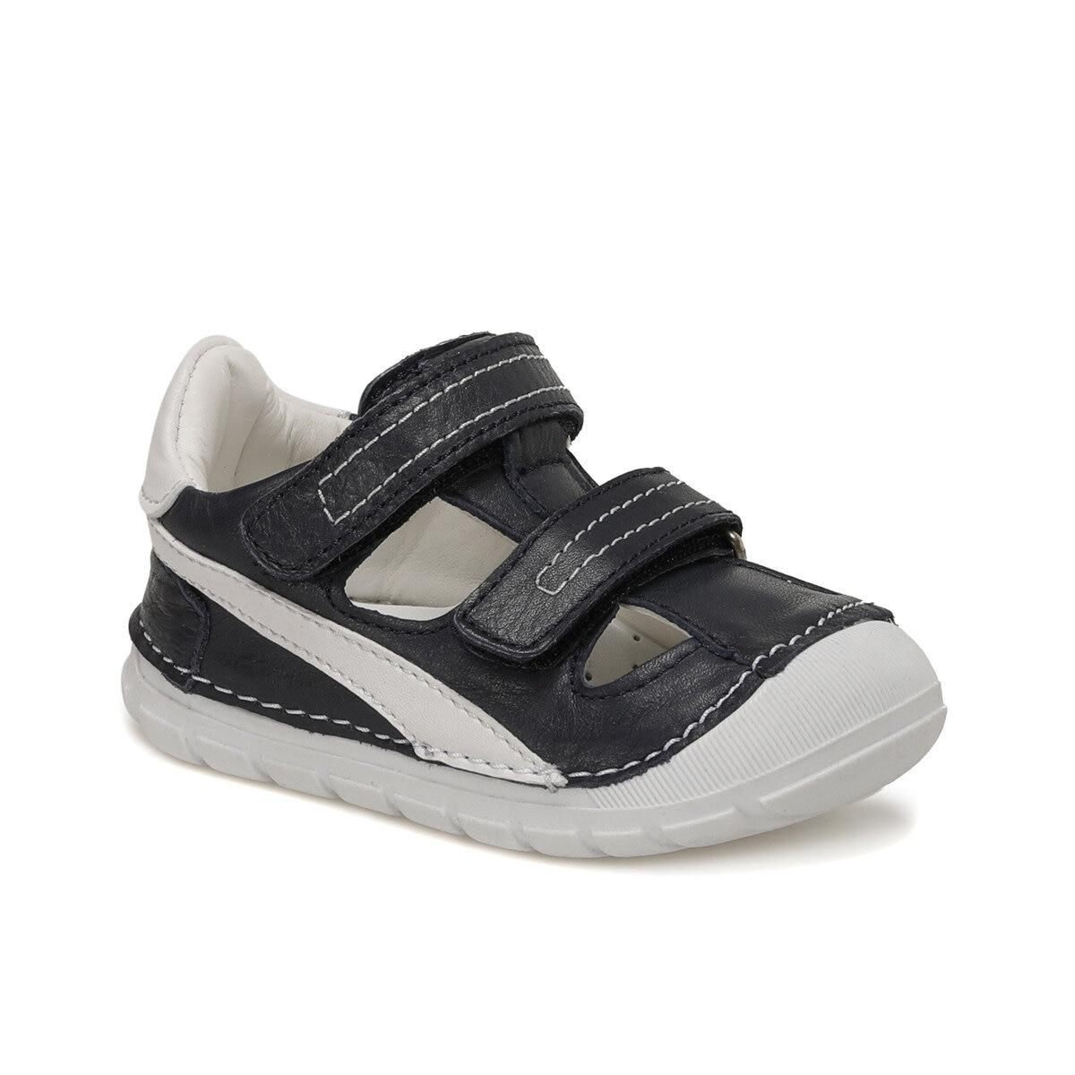 FLO 512205.I Navy Blue Male Child Sneaker Shoes Polaris