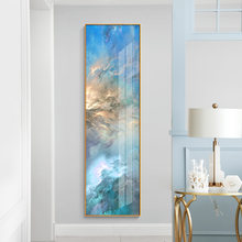 Abstract Landscape Sky Colorful Clouds Canvas Painting Posters and Print Modern Wall Art Pictures for Living Room Bedroom Aisle