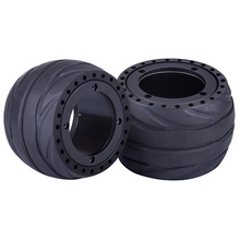 2pcs 105 X 66mm Rubber Tire Wheel For 105 X 65mm Hub Motor Electric Skateboard Accessories Sports Toys Modift Part